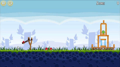 Mobile games: Angry Birds
