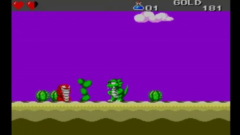 Wonder Boy III Screenshot