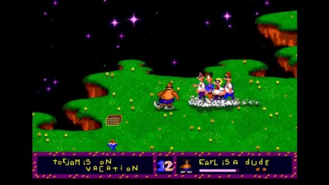Toejam and Earl Screenshot